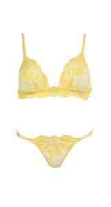 Completo chrystie giallo