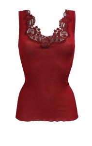 Moda primavera Top Dana rosso