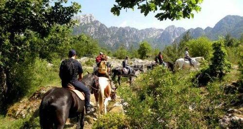 Trekking in Abruzzo con i professionisti dell'equitazione