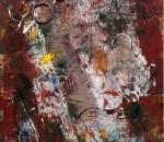 Fiorenza Bertelli, Rivoluzione umana, 2015, olio su tavola, 123x95 cm