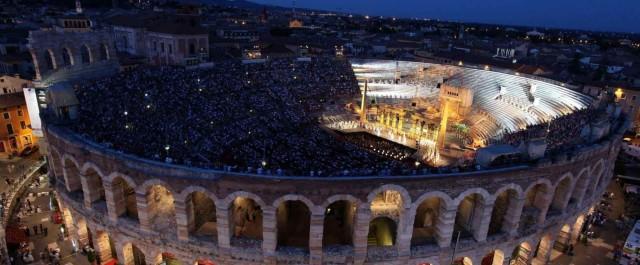La grande opera è di scena all'Arena di Verona