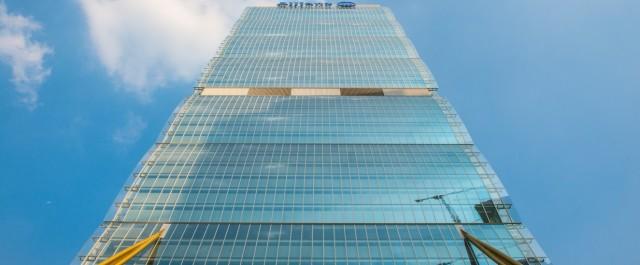 Scalata all'Allianz Tower