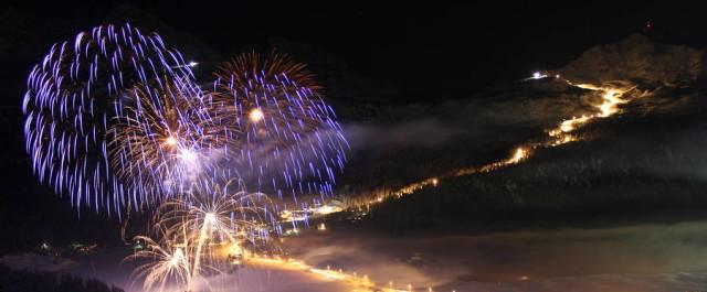 Capodanno sugli sci al Corvatsch