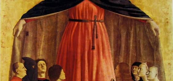 La Madonna della Misericordia di Piero della Francesca a Natale a Milano
