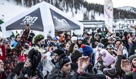 Party e sci in alta quota