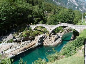 Il Ponte dei Salti in Val Verzasca. Foto Credits: Foto Credits: Luciano Meoni
