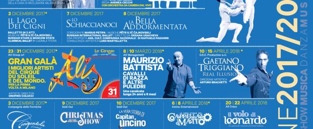 Teatro della Luna: tanti musical, musica, family show nella nuova stagione