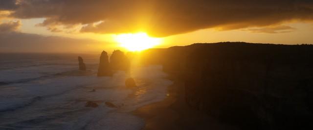 Alba e tramonto sulla Great Ocean Road