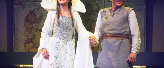 Lorella Cuccarini è La Regina di Ghiaccio