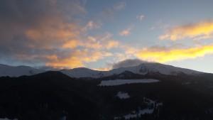 Pila tramonto