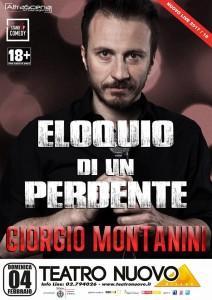 Locandina Milano Giorgio Montanini