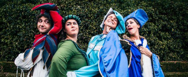 I Muffin presentano il musical La Principessa sul Pisello al Teatro del Baraccano di Bologna