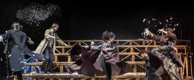 Gli Uccelli di Aristofane al teatro Menotti: in scena la Nubicuculia di Emilio Russo