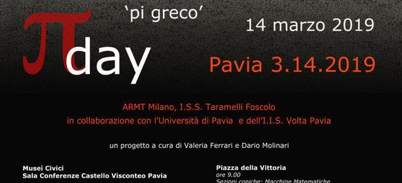 A Pavia si festeggia il pi greco day