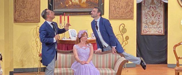 Trionfa la commedia brillante La Sposa Conveniente al Teatro Villa