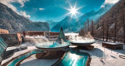 Aqua Dome, un'oasi di benessere in quota